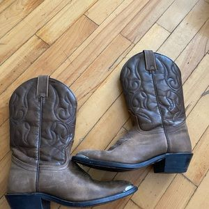 Canada West cowbow boots